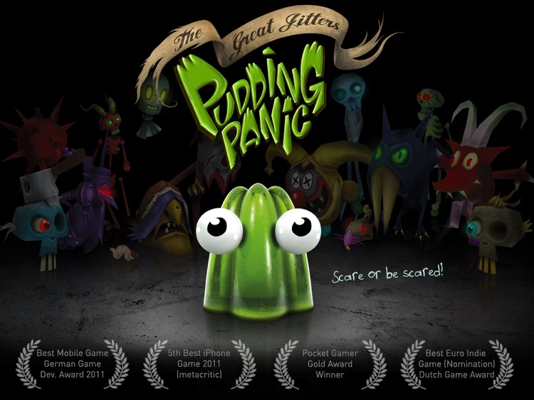 The Great Jitters: Pudding Panic HD
