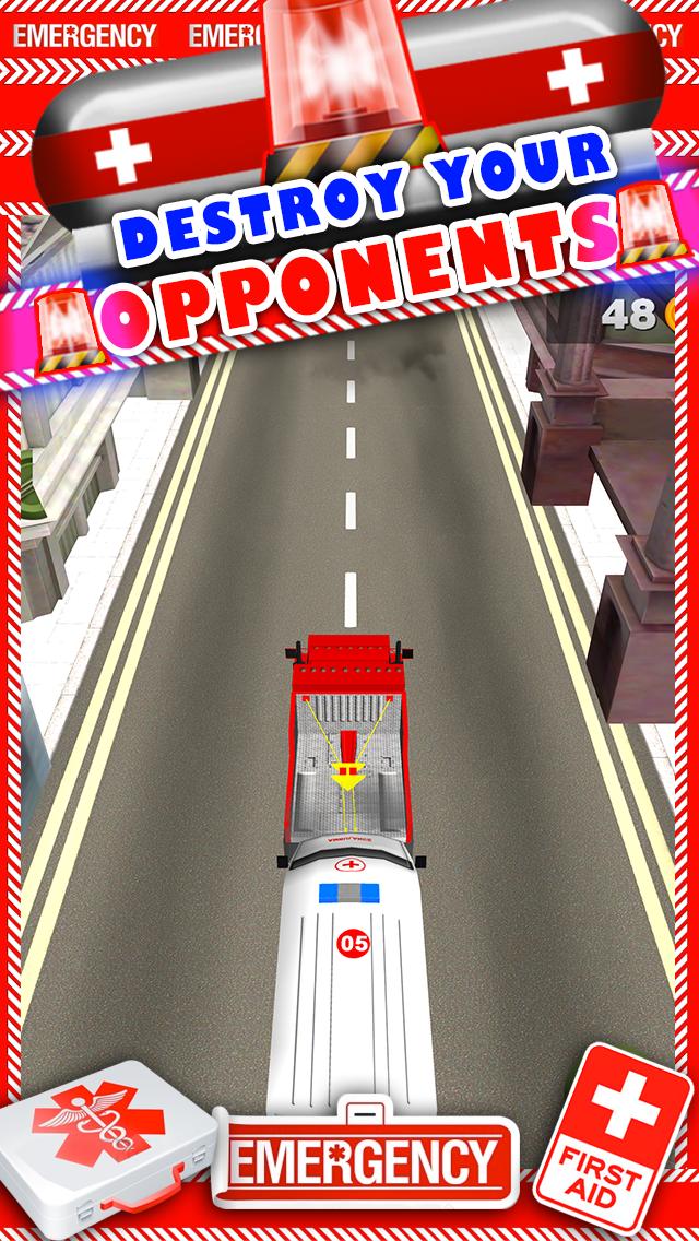 新ボーイズ無料でトップ楽しいドライビングレーシングゲームで、3D救急車レースカーのゲームのおすすめ画像4