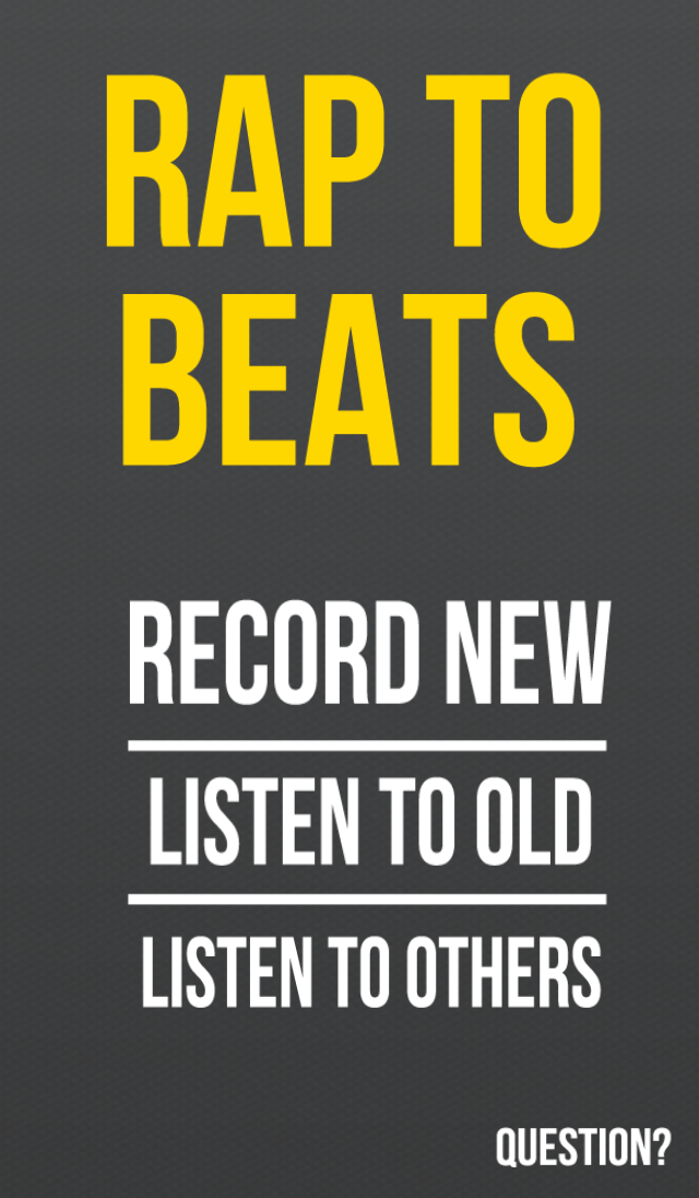 Rap to Beats Screenshot