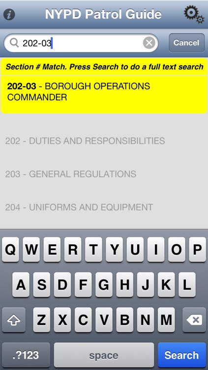 NYPD Patrol Guide 2013 screenshot-3