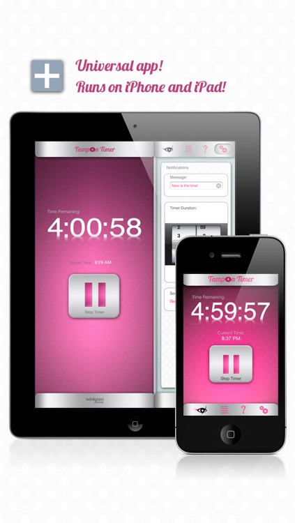 Tampon Timer Free (an iPeriod® companion app) screenshot-2