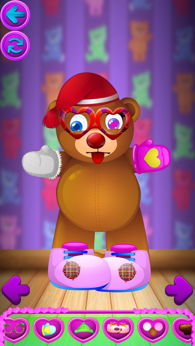 Valentines Day Playtime - Dress Up, Decorate Cookies, Teddy Bear Builder, Decorate Cupcakes, Decorate Cards screenshot three