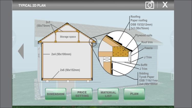 Design Shed Garage 3D screenshot-3