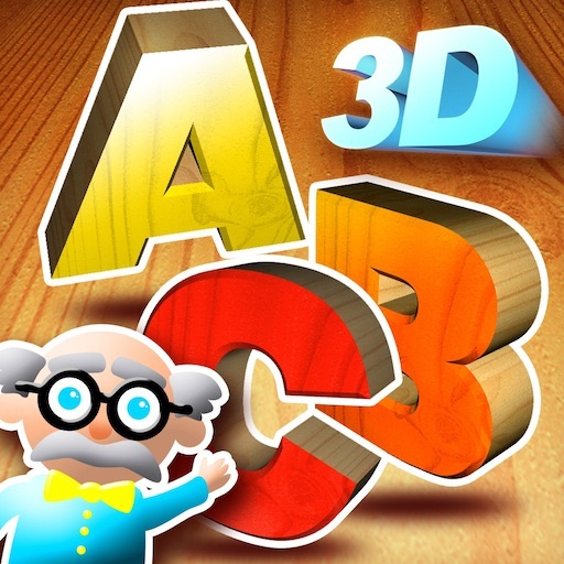 Super 3D Alphabet - 5 Games to Learn the Alphabet and the Letters