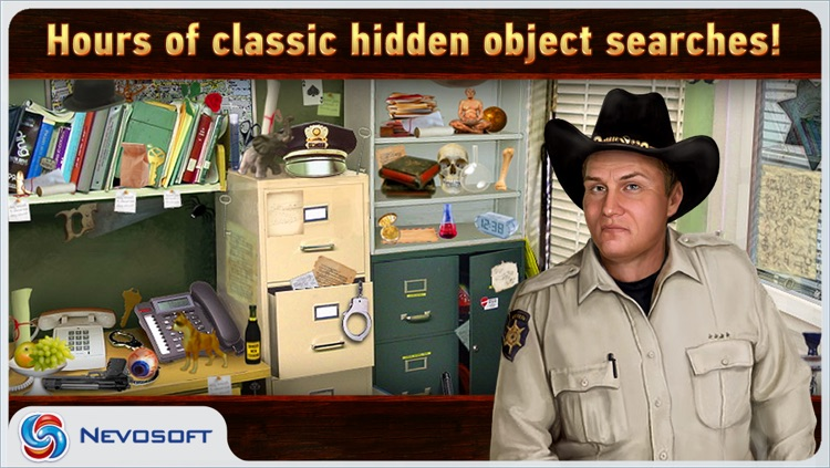 Mysteryville Lite: hidden object investigation screenshot-2