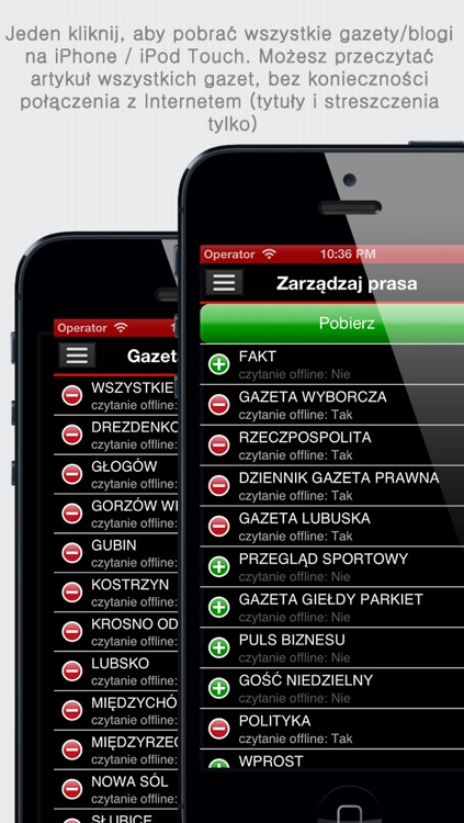 Polskie Gazety+ (Polish Newspapers+ by sunflowerapps)
