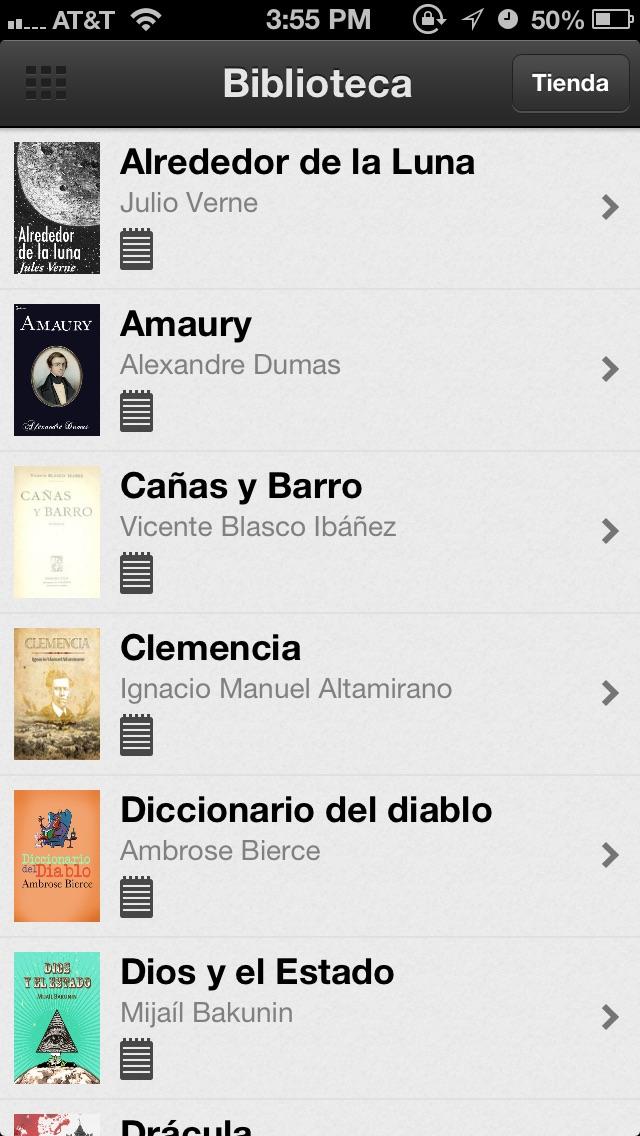 Libros y Audiolibros Gratis Screenshot