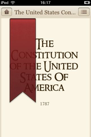 The Constitution of the United States of America screenshot-0