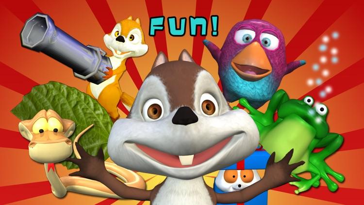 Nut Flow - Funny Squirrel Feed