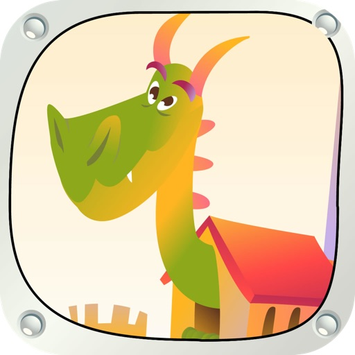High medieval castle dragon -  make the highest tower in the shortest time and conquer the dragon at the castle