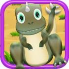快乐恐龙泡泡冒险 - 免费儿童游戏! icon