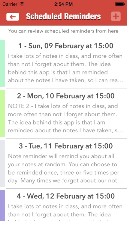 Note Reminder screenshot-3