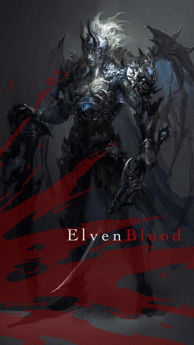 Elven Blood 【無料ダークファンタジーRPG】 登録不要の冒険ロールプレイングゲームのスクリーンショット1