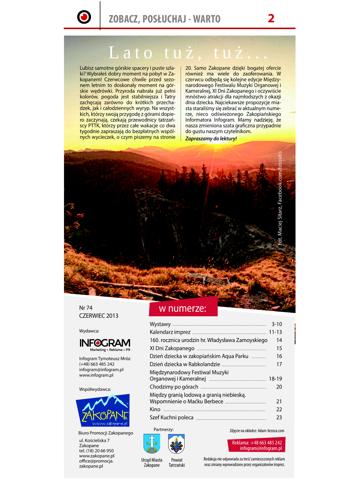 Screenshot of INFOGRAM Zakopiański Informator