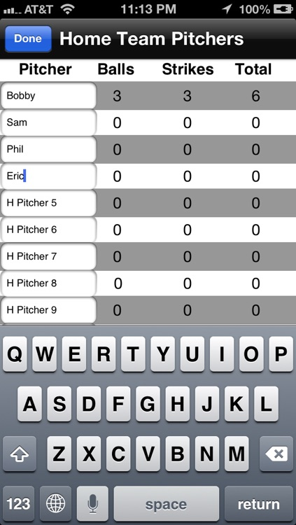steeRIKE2 Pitch Counter