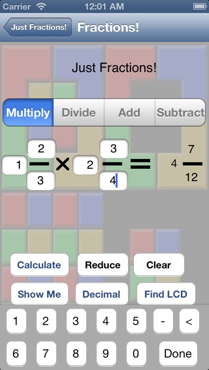 Just Fractions screenshot-1