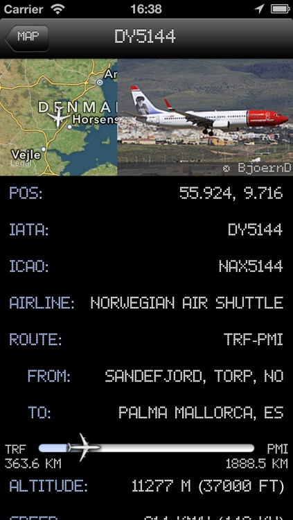 Denmark Airport - iPlane2 Flight Information screenshot-4