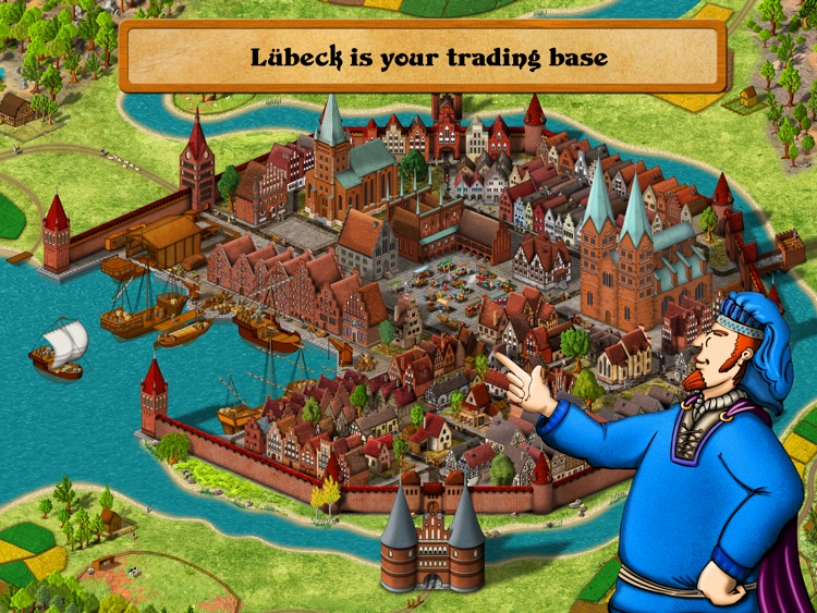 Medieval Merchants - A historical trading simulation