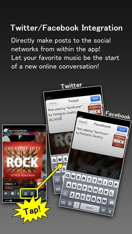 LUX3D Music Player screenshot-3