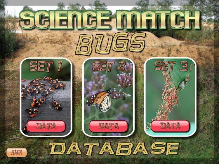 Science Match Bugs screenshot-3