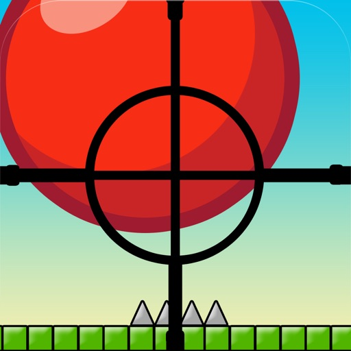Bouncing Red-ball Sniper Drop Game - The Top Fun Spikes Shooter Games For Teens Boys & Kids Pro
