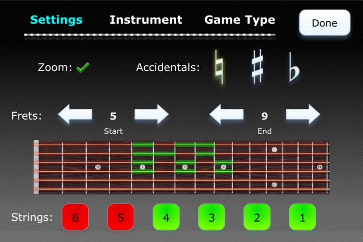 Fret Tester - Learn Notes for Guitar, Bass, and Mandolin screenshot-4