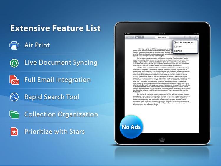 iDocs HD for Google Docs™ and Google Drive™ screenshot-3