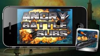 Submarinos batalla Angry - Un juego submarino de guerra!Captura de pantalla de3