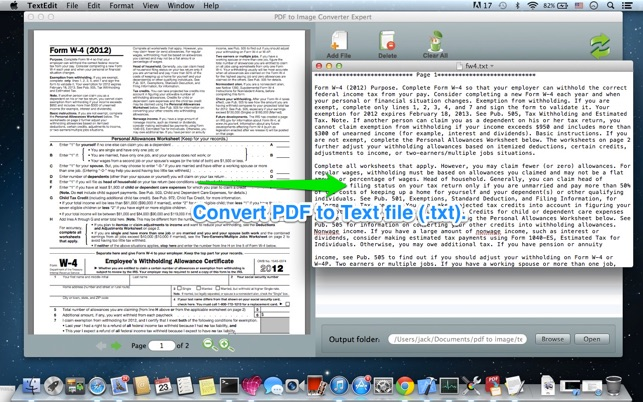 PDF to Image Converter Expert Screenshot
