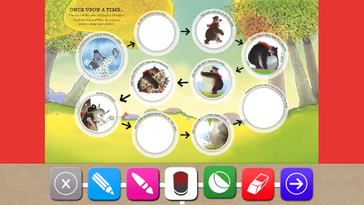 Hugless Douglas Sticker Activity App screenshot-2