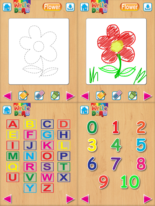App Store Write Draw Free For Ipad Learning Writing