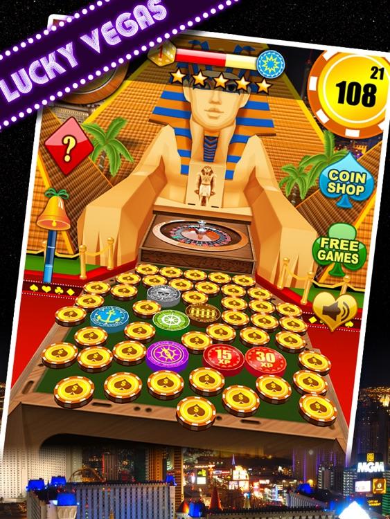 Kingdom Coins HD Lucky Vegas - Dozer of Coins Arcade Game