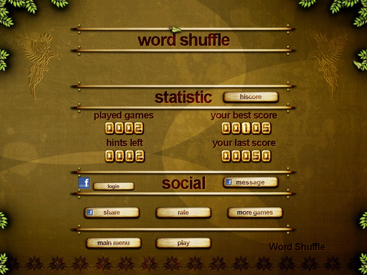 ACC Word Shuffle HD Free - classic puzzle games screenshot-3