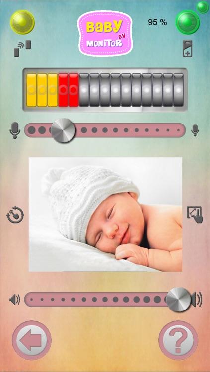 Baby Monitor AV screenshot-3