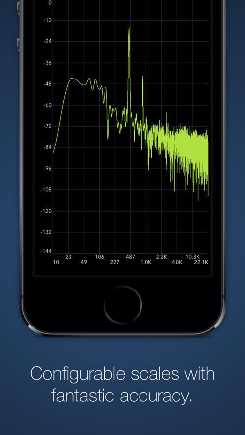 SignalSpy - Audio Oscilloscope, Frequency Spectrum Analyzer, and