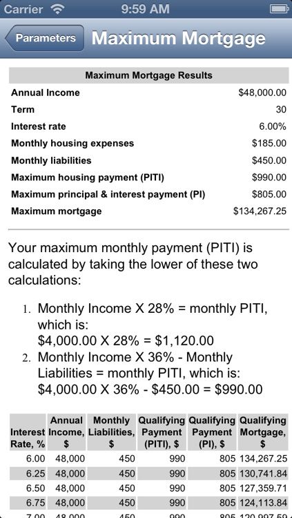 Mortgage and Financial Calculator Suite screenshot-4