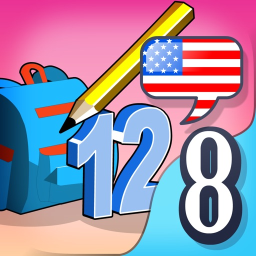 Letters and Numbers - Read, Write, Speak and Spell English School Words