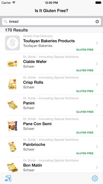 Is It Gluten Free? screenshot one