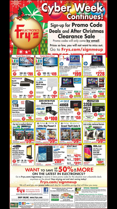 Deals - for Frys Ads! Screenshot