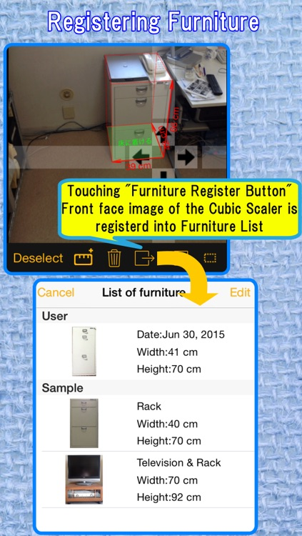 CamScale - Easy measuring & remodeling by camera screenshot-3