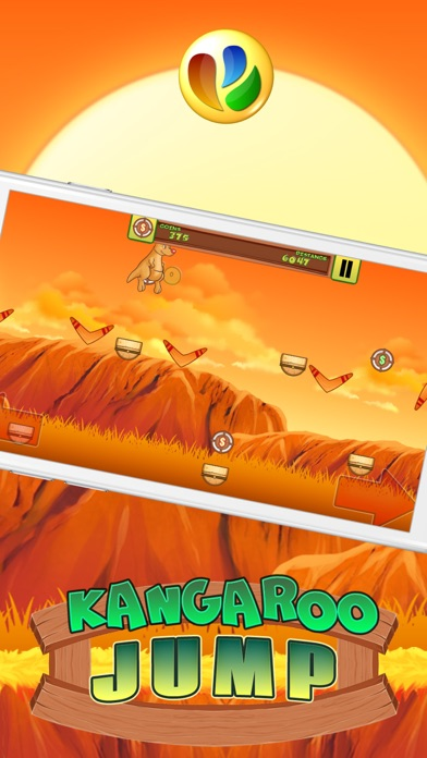 Kangaroo Jump and Run Spiel - Kangaroo Jump and Run GameScreenshot von 4