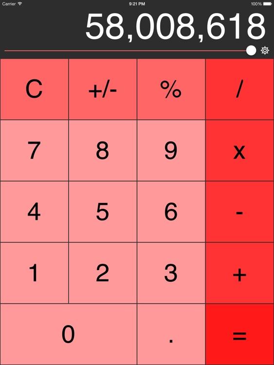 Decimal Calculator (No Ads, Links or IAP)