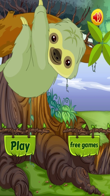 Baby Sloth Tree Climber - Jungle Survival Run (Free) screenshot-4