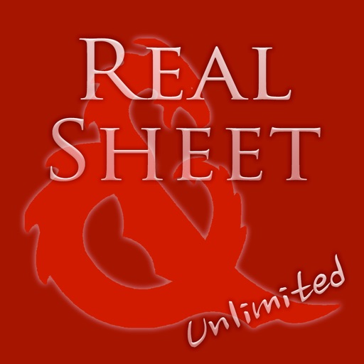Real Sheet Unlimited: D&D 5th Edition