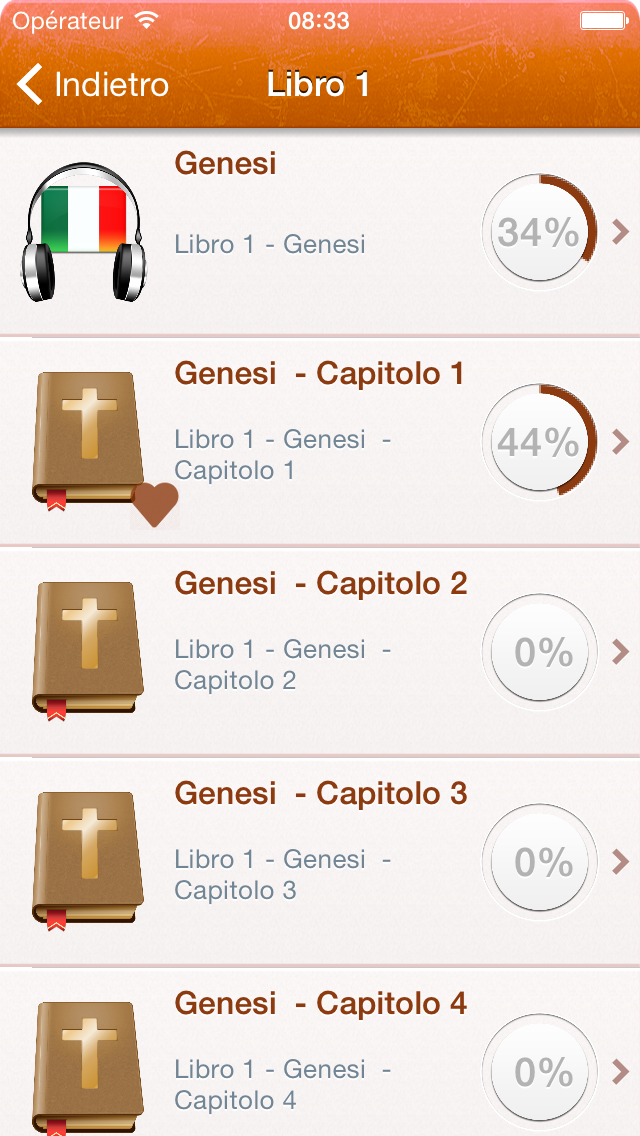 点击获取Free Italian Holy Bible Audio mp3 and Text - Sacra Bibbia - Riveduta Version