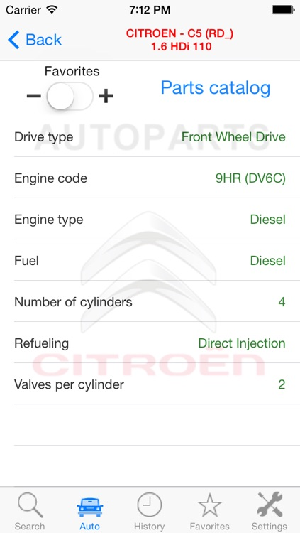Autoparts for Citroën screenshot-3