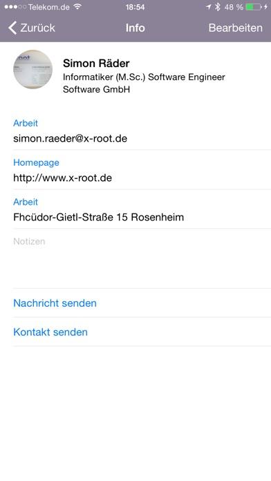 Screenshot for Cardreader – Visitenkarten Scanner in Austria App Store