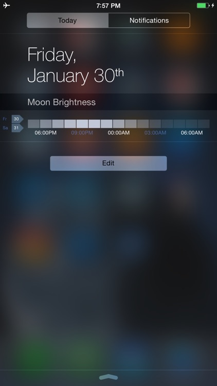 Moon Brightness Table screenshot-4