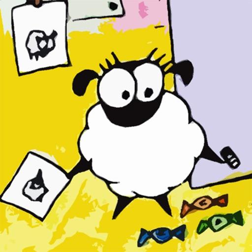 Nora The Sheep Coloring Book