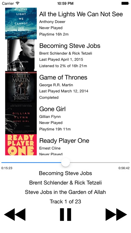 Audiobooks Watch
